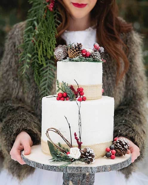 emagiangrecoweddings_wedding-cake-with-a-winter-touch